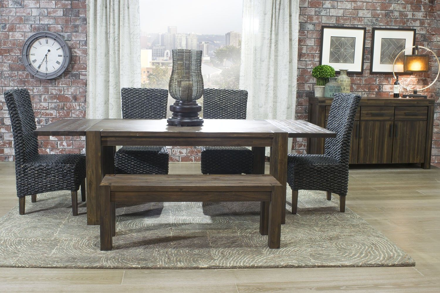 Meadow Rustic Dining Room