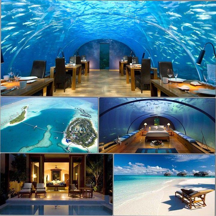 Private Island Beaches: Conrad Rangali Island Maldives (Rangali Island, Maldives