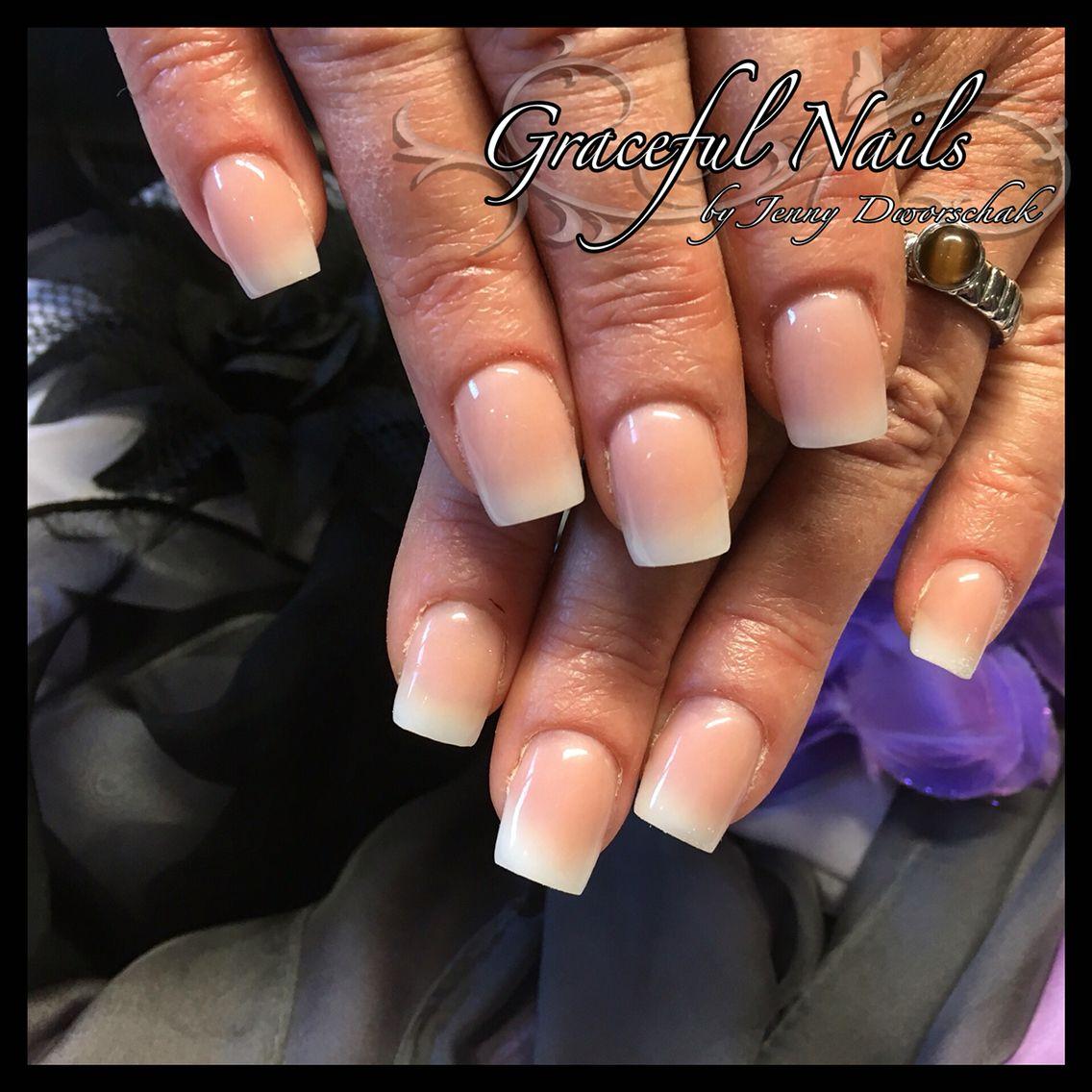 Babyboomer Nails Naildesign Acryl | Nails Fullcover French Malerei ...