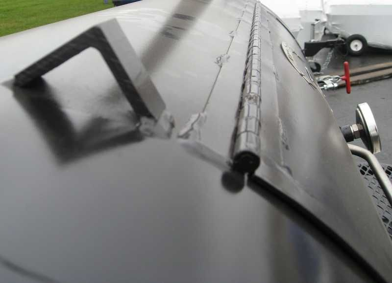 Door Stop on Top of Tank & Door Stop on Top of Tank | Smoker | Pinterest | Doors Bbq diy and ...