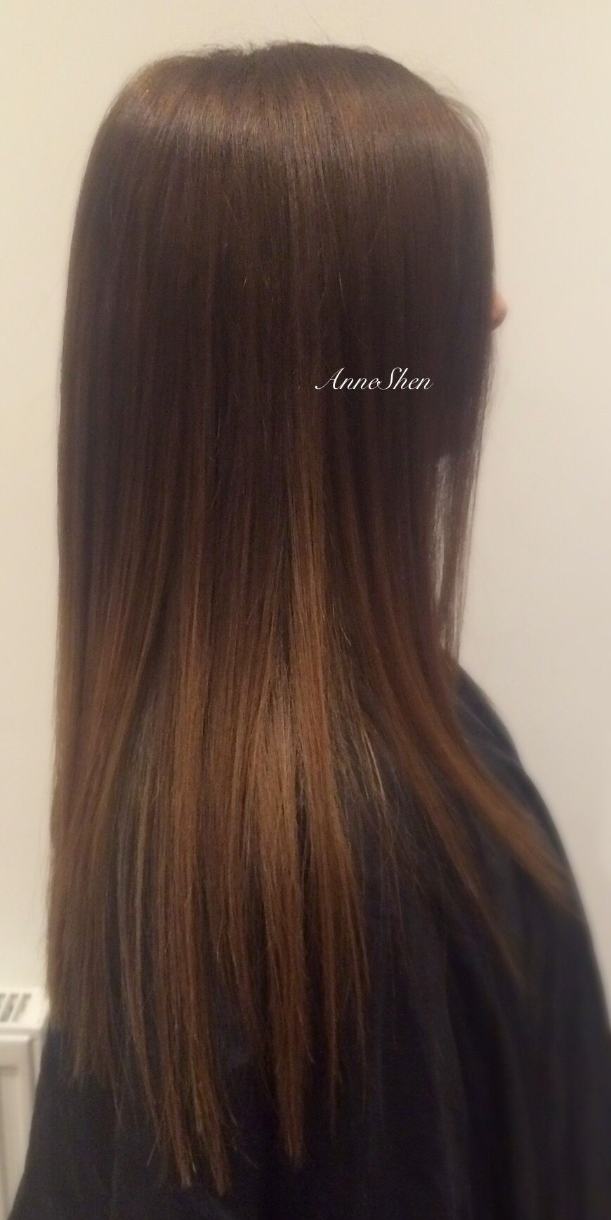 Chocolate Brown And Caramel Balayage Ombr Colour And Cut Balayage