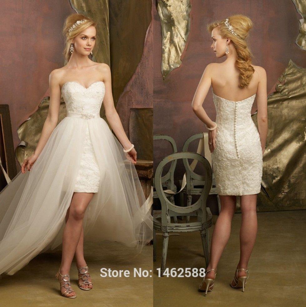 Short skirt long dress