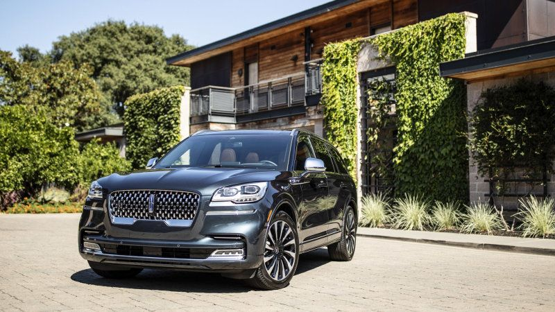 2020 Lincoln Aviator Reviews Lincoln Aviator Ford Sync Touring