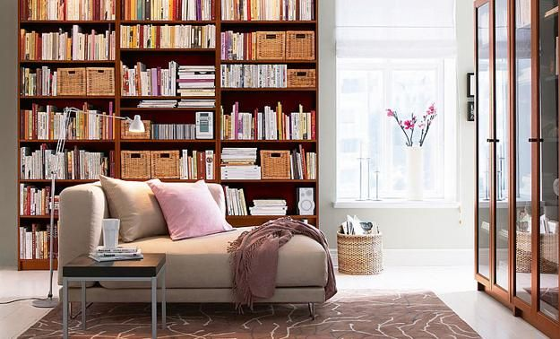 Home Library Design Ideas large home library with custom built bookshelves and wooden ceiling Book Shelves For Personal Library Decorating And Design In Style