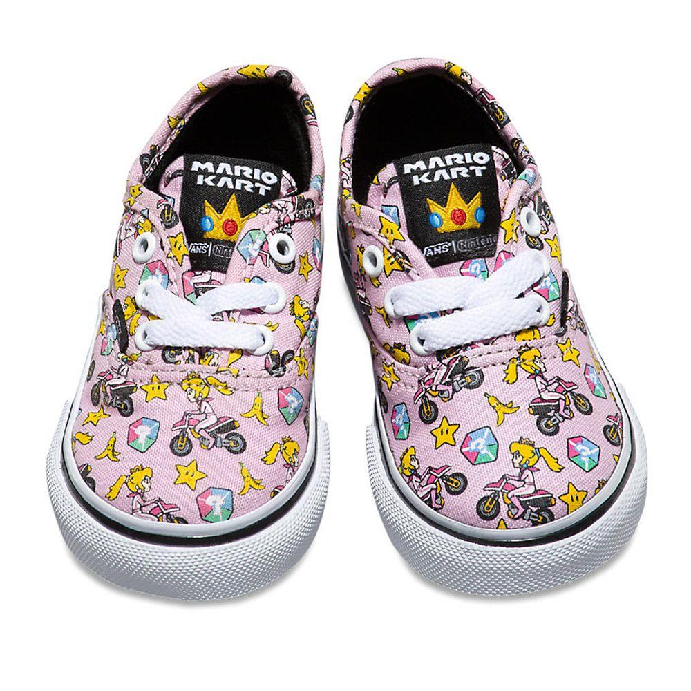 861b93b7b3 Vans - Authentic (Nintendo) - Toddler - Princess Peach size 5