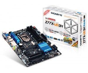 GIGABYTE Z77X-UD3H-WB Motherboard