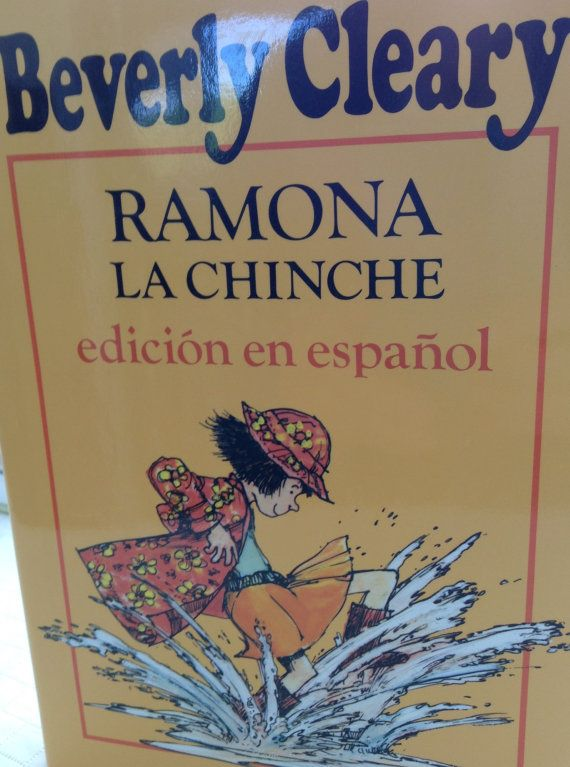 Nearly new Spanish translation of Ramona the Pest by Beverly Cleary. With dust…