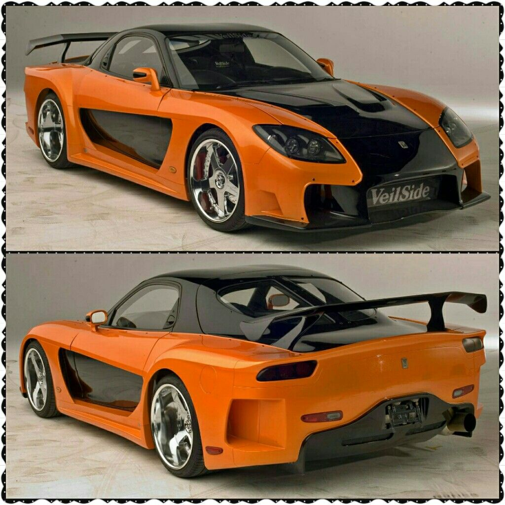 VeilSide Fortune Widebody Kit Mazda RX7 From The Movie