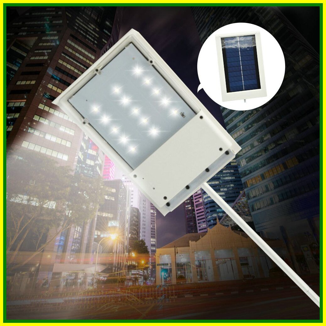 121 Reference Of Street Light Solar Panel In 2020 Solar Powered Lights Street Light Sensor Lights Outdoor