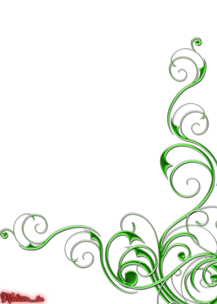 Green swirls png by melissa tm border pinterest scrap clip green swirls png by melissa tm altavistaventures Images