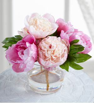 Jane Seymour Botanicals Mixed Pink Silk Peonies Antonio Flowers
