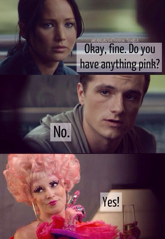 Lol haha funny pics pictures peeta katniss effie mean perfect combination of mean girls and the hunger games voltagebd Gallery