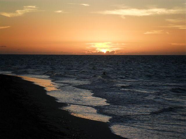 Sunset Cuba Beach