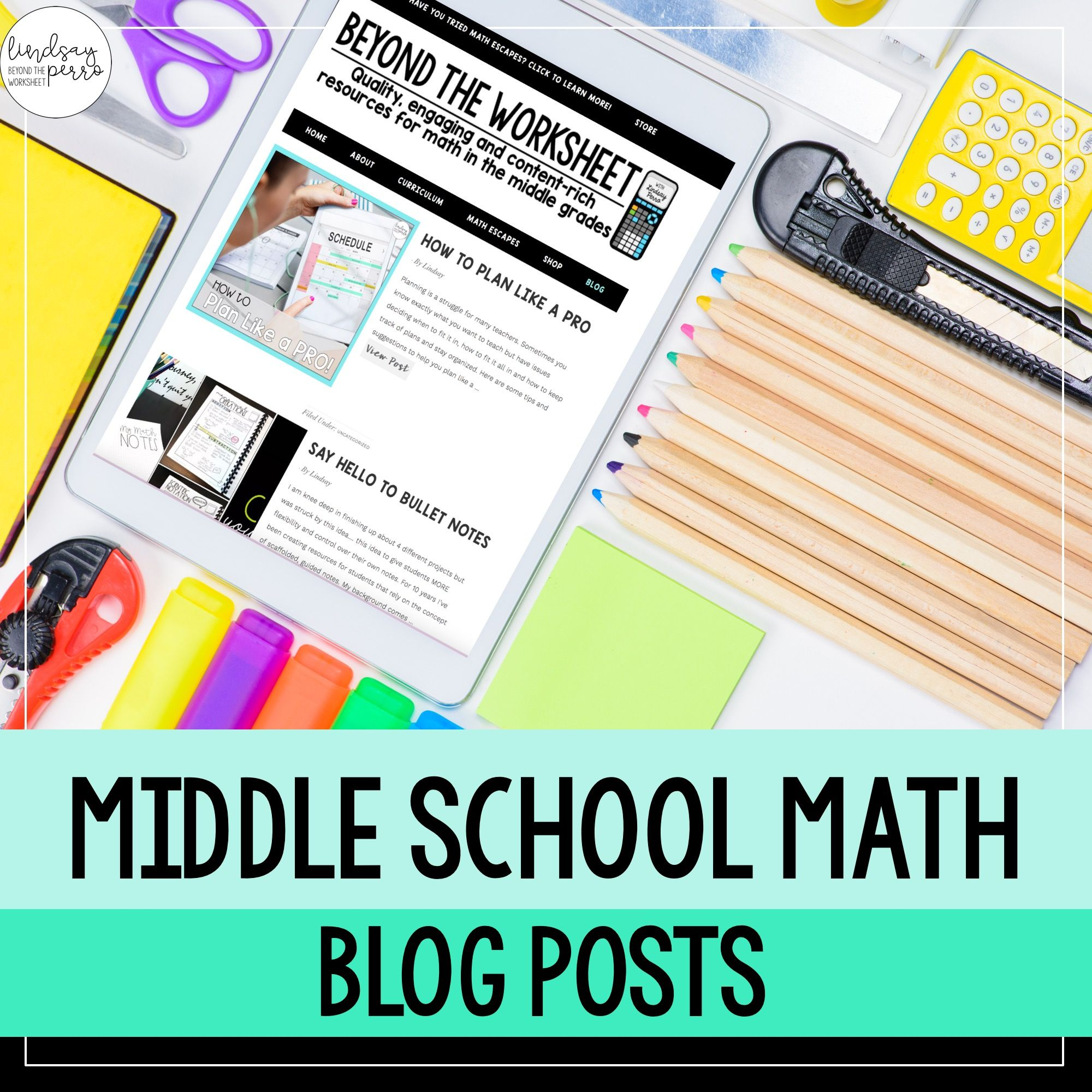 Head Over To This Middle School Math Blog For Ideas