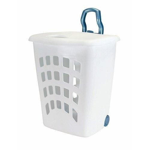 Laundry Basket On Wheels Lovetoknow Laundry Basket On Wheels