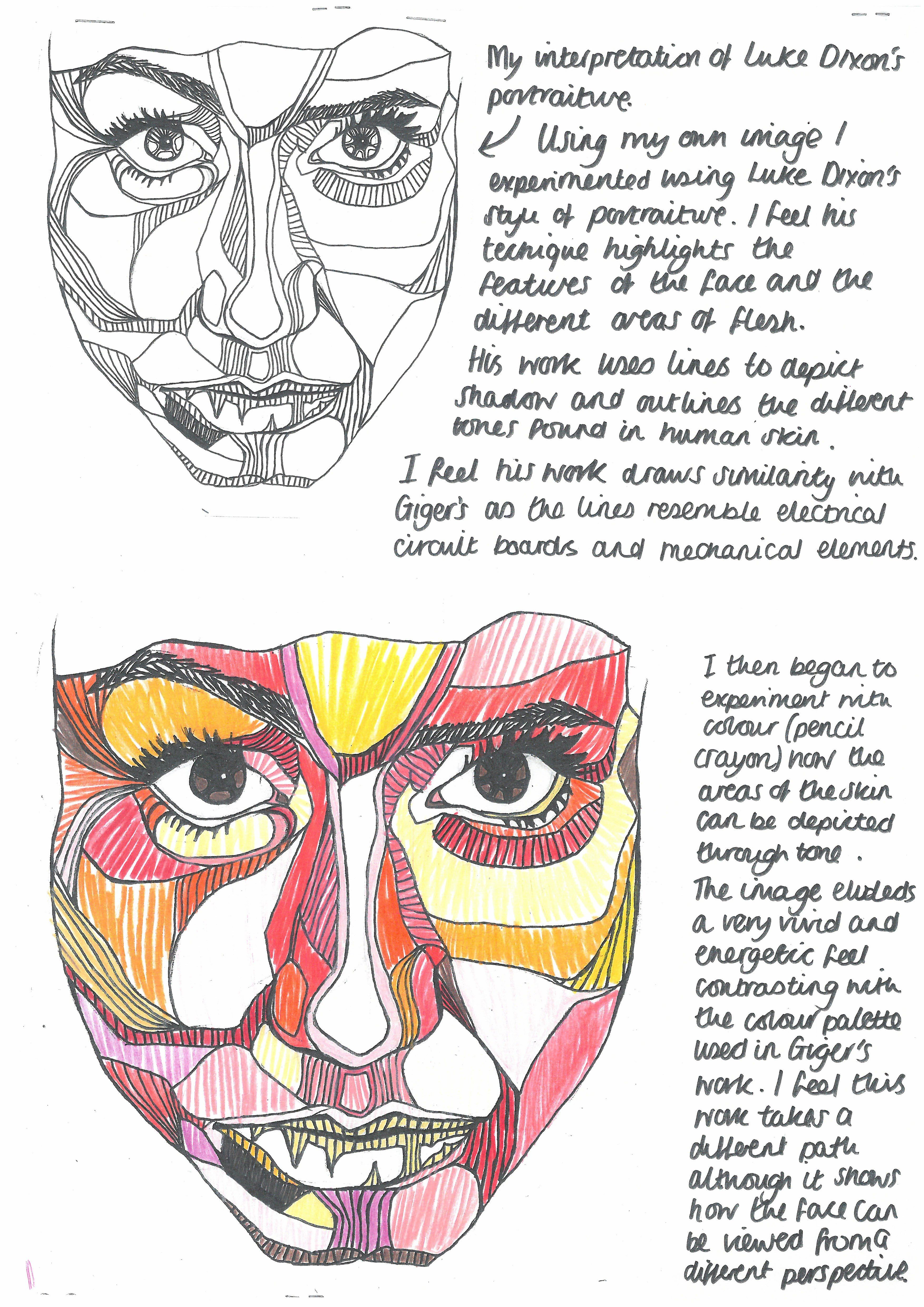 Pin By Brieahn March On Teaching Portraiture In