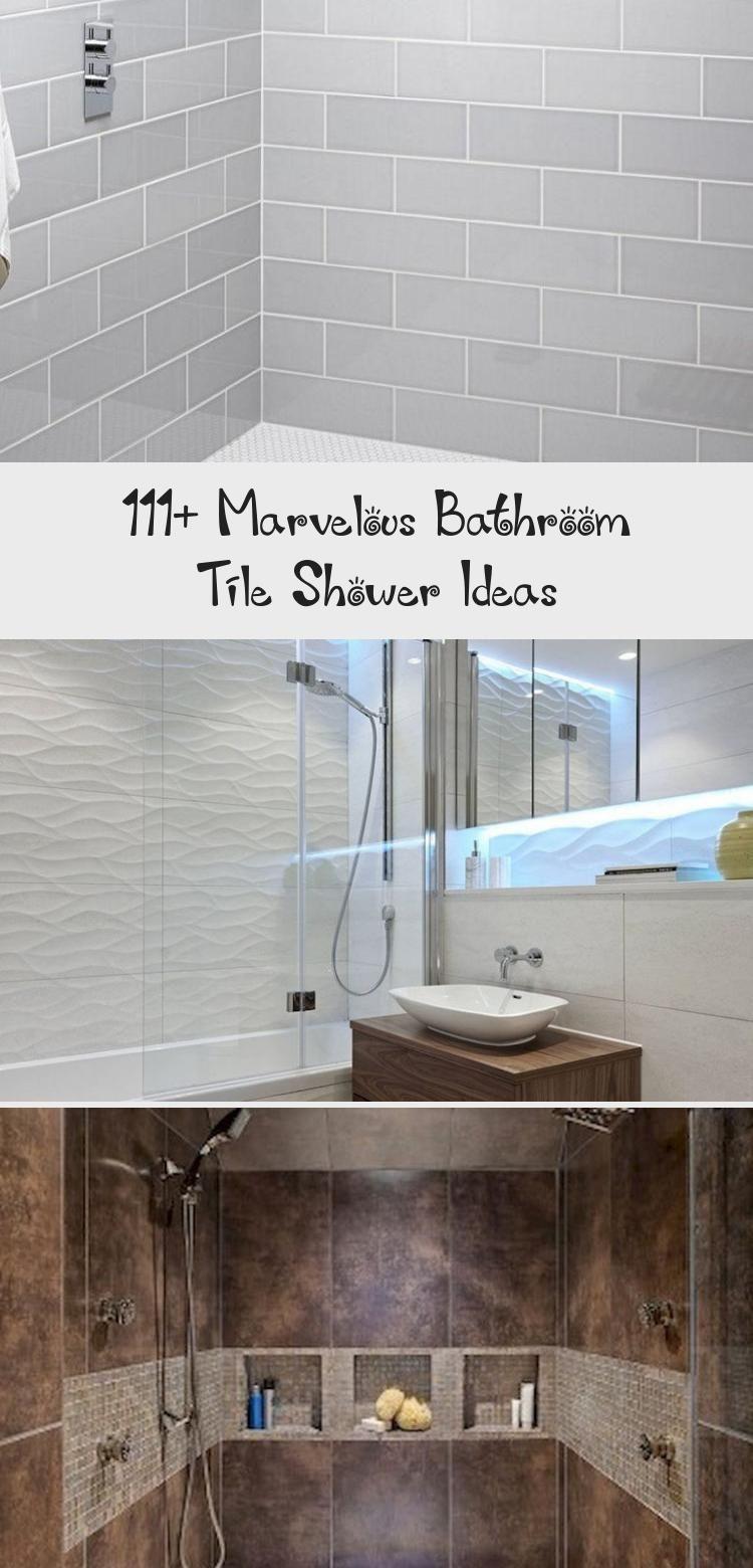 111 Marvelous Bathroom Tile Shower Ideas Bathroomideas Bathroomdecor Bathroomremodel Cutebathroomideas Whitebat In 2020 Bathroom Shower Tile Shower Tile Bathroom