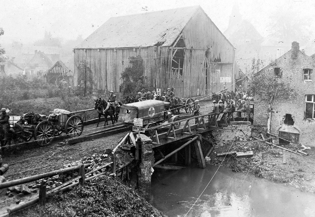 World War I In Photos The Western Front Part Ii And
