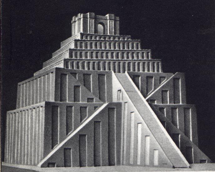 Modern Architecture Encyclopedia sumerianziggurat - architecture of mesopotamia - wikipedia, the