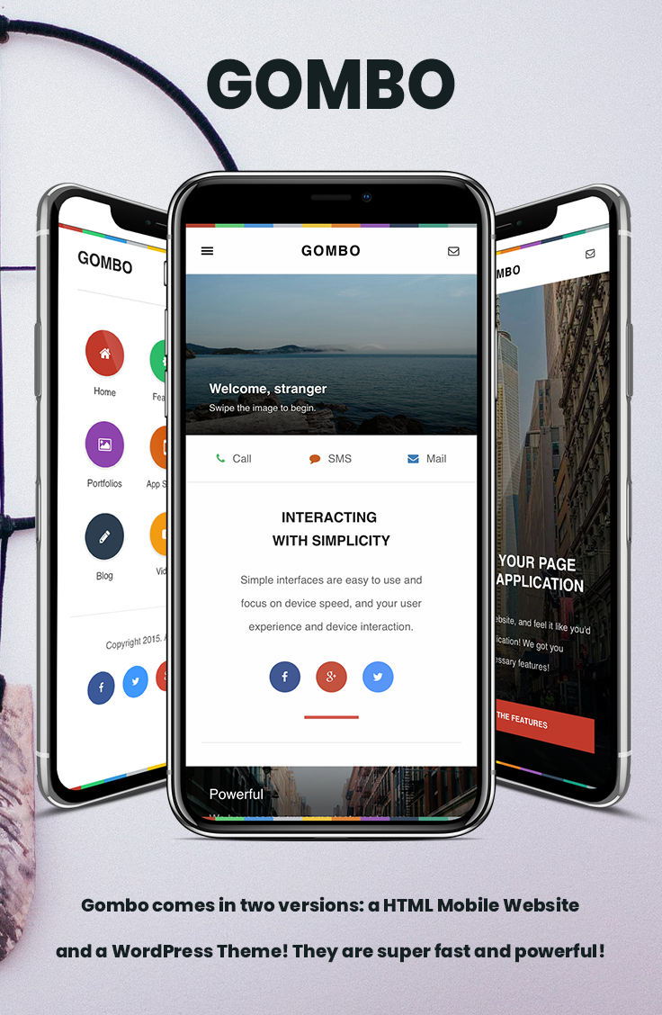 Gombo provides an easy to browse navigation, powered by