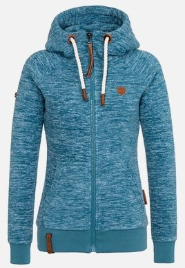 Damen Zipped Hoody von Naketano. in 2020   Sweatshirt jacke