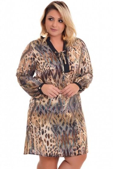 Vestido Plus Size Heloyse