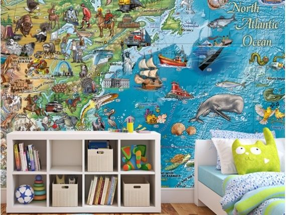 Beautiful world maps by rayworld these huge wall mural atlas maps beautiful world maps by rayworld these huge wall mural atlas maps by designers rayworld are intended to be pieces of art in their own right gumiabroncs Gallery