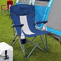 Member S Mark Folding Hard Arm Chair Assorted Colors Blue