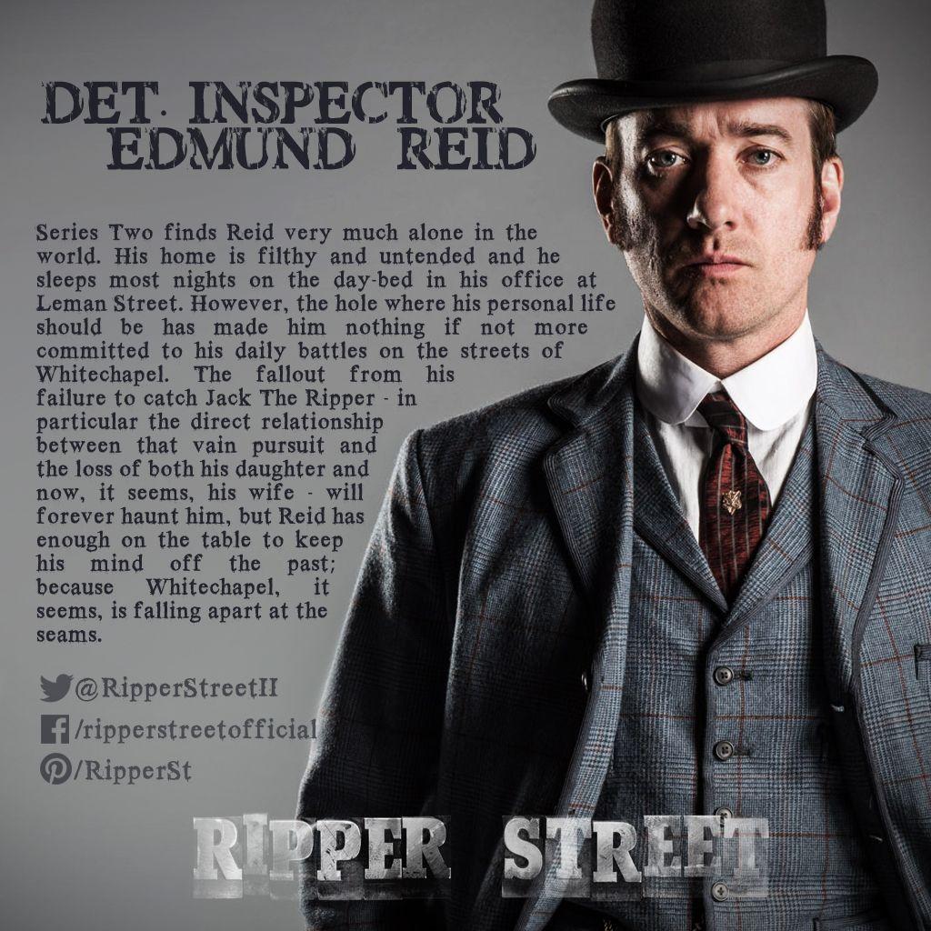 Detective Inspector Edmund Reid Matthew Macfadyen With Images