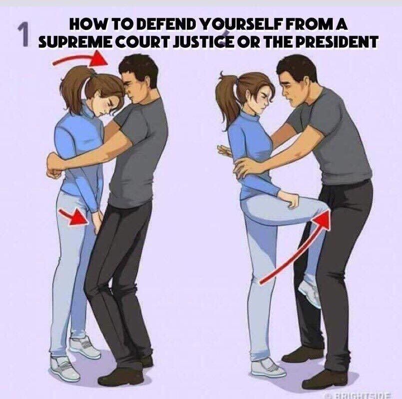 How to defend yourself Self defense moves, Self