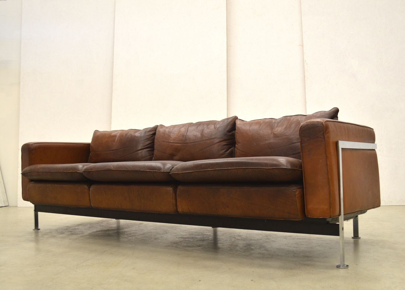 For Sale Rare Early Rh302 3 Seater Sofa By Robert Haussmann For Hans Kaufeld 3 Seater Sofa Sofa Seater Sofa