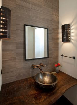 Bathroom Sinks San Antonio hill country modern - contemporary - powder bathroom - san antonio