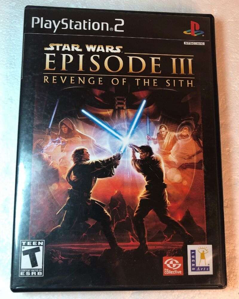 Star Wars Episode Iii Revenge Of The Sith Sony Playstation 2 2005 Ps2 Ps4 Gaming Video Star Wars Games Star Wars Episodes Star War Episode 3
