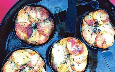 Potato recipe Janssonu0027s Temptation (adapted from Jane Grigsonu0027s - new book blueprint cafe