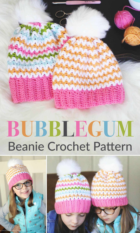 Slouchy Beanie Crochet Pattern | Pinterest | Gorros y Tejido