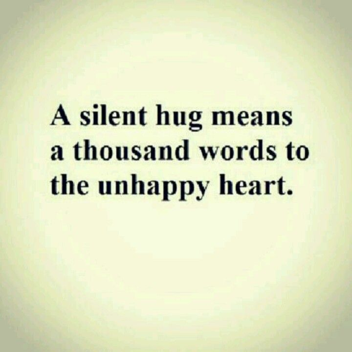 Hugs!  This is so true.  Hug your children and encourage them to give hugs.