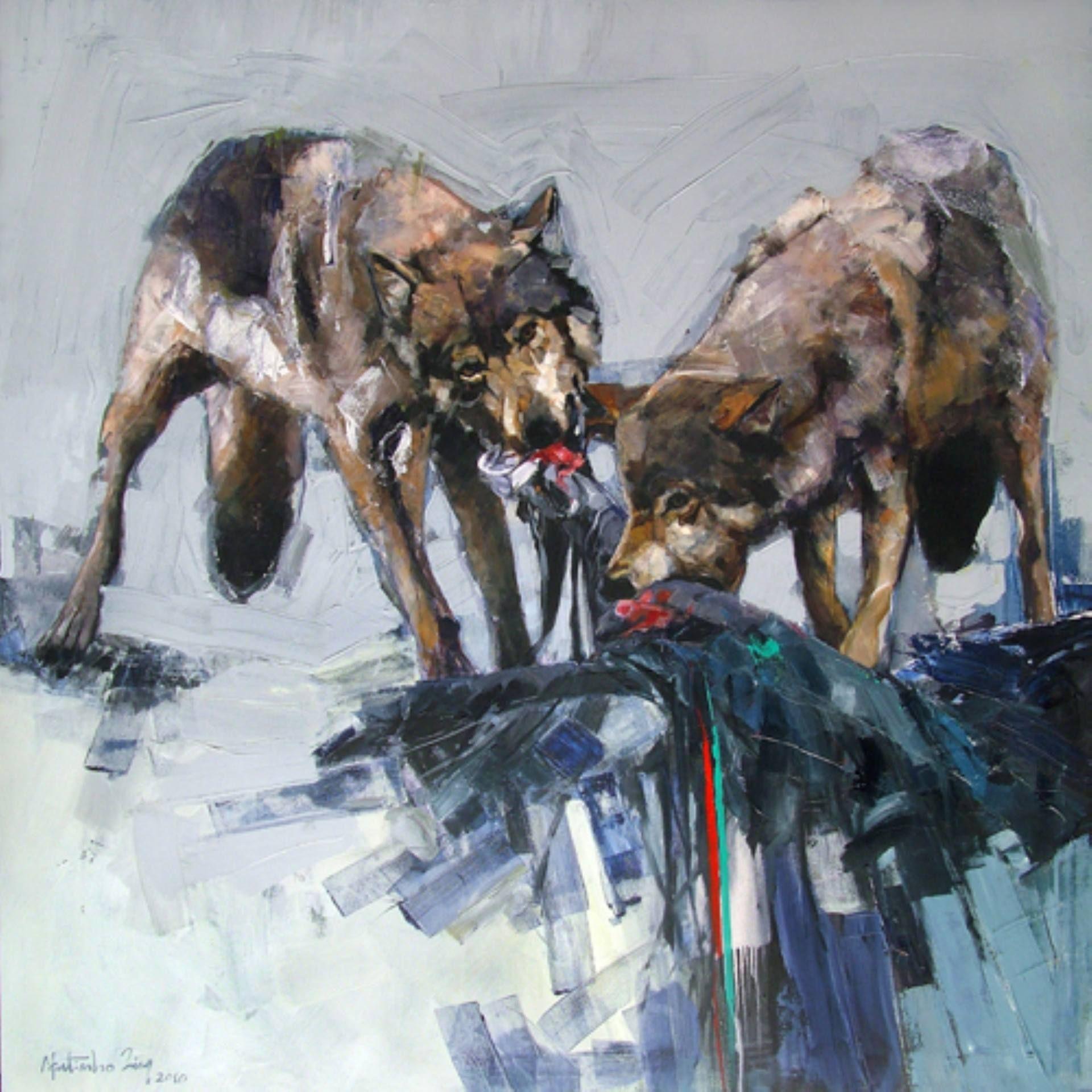 acrylic on canvas 130 x 130 cm 2010
