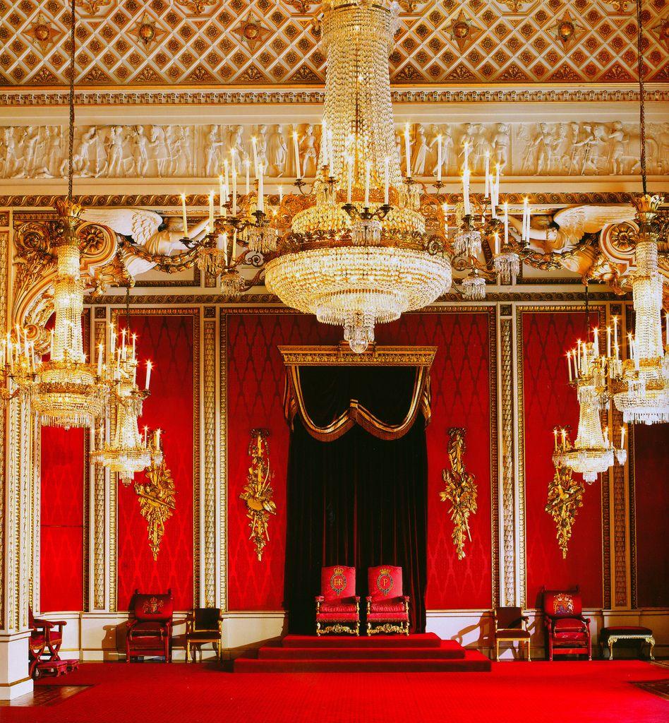 Throne Room Buckingham Palace Throne Room Palace Interior