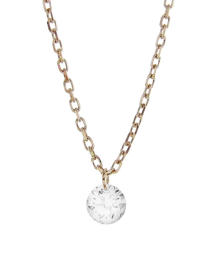 Kataoka jewelry single round diamond necklace handcrafted in 18 ff218a8d025c659cfca6ddde7002fe49g aloadofball Choice Image