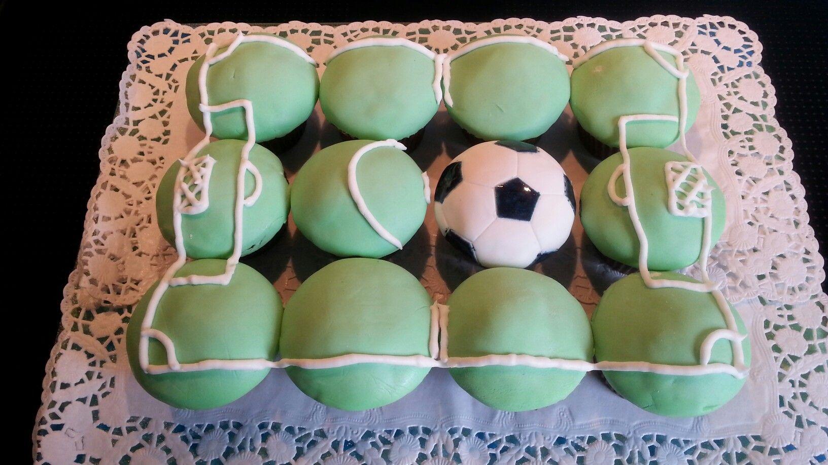 Fussball Muffins