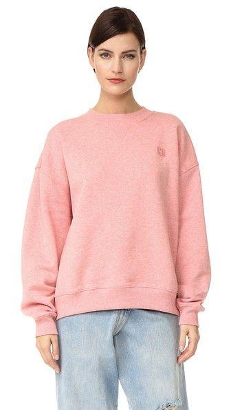 Acne Studios Yana Face Pullover Sweatshirt