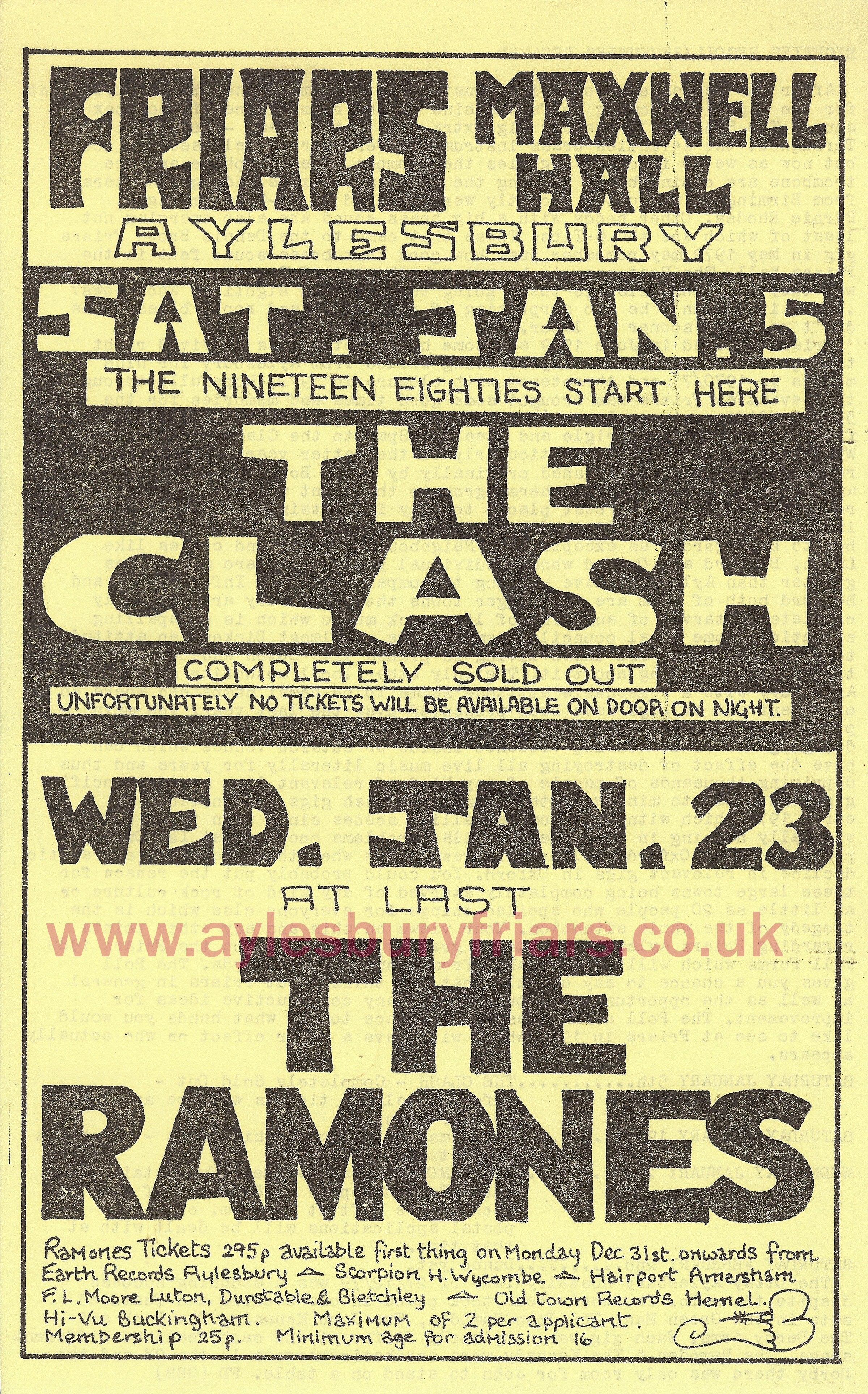 The Clash Music Concert Posters Rock Band Posters Punk Poster