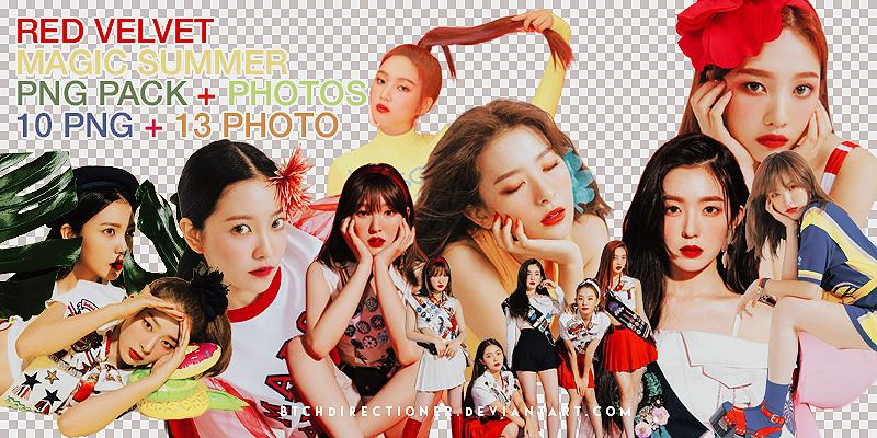 Png Pack Red Velvet Magic Summer Photopack By Https Www Deviantart Com Btchdirectioner On Deviantart Red Velvet Velvet Red