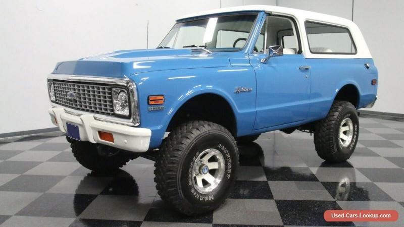 1971 Chevrolet Blazer Chevrolet Blazer Forsale Canada