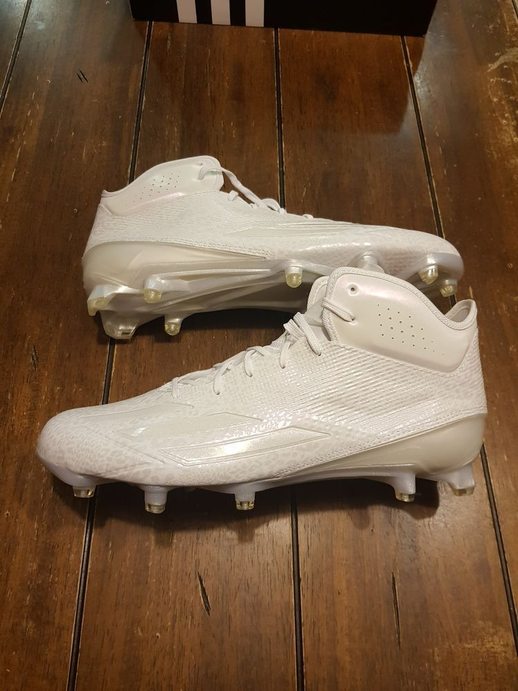 pink football cleats size 12