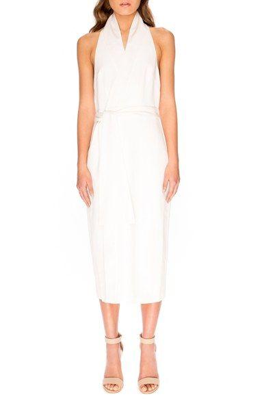 40be0d9c Keepsake the Label 'White Shadow' Wrap Dress $180.00   Shop ...