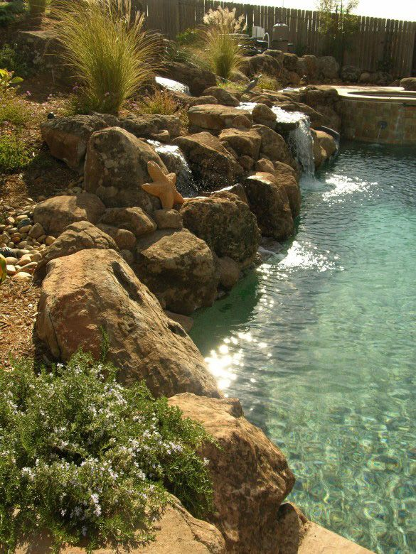 Photographs Of Rod Whitlow S Work Outside Pool Garden Living Swimming Pools