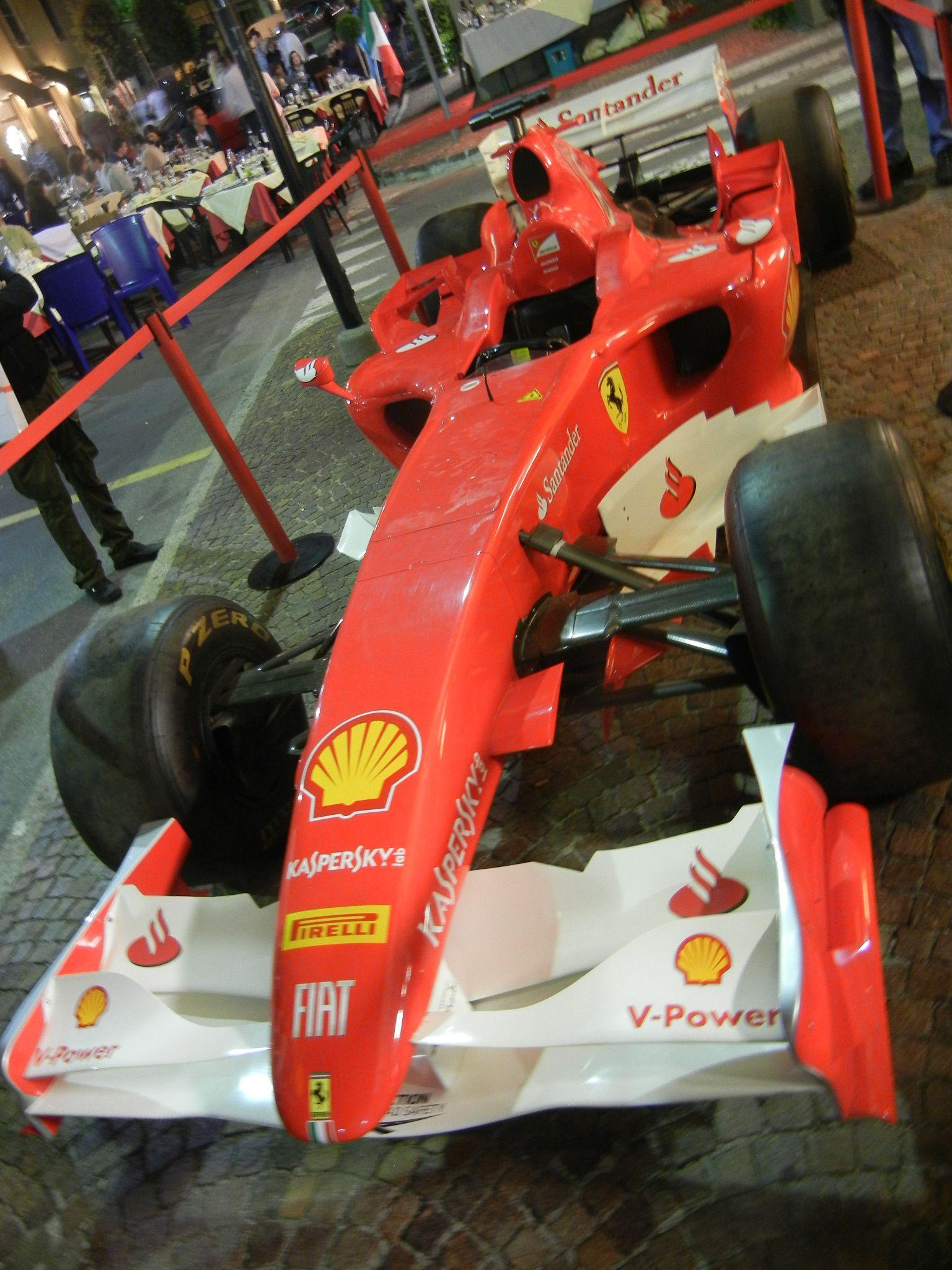 In Maranello. 1st Notte Rossa Sept 15, 2012.