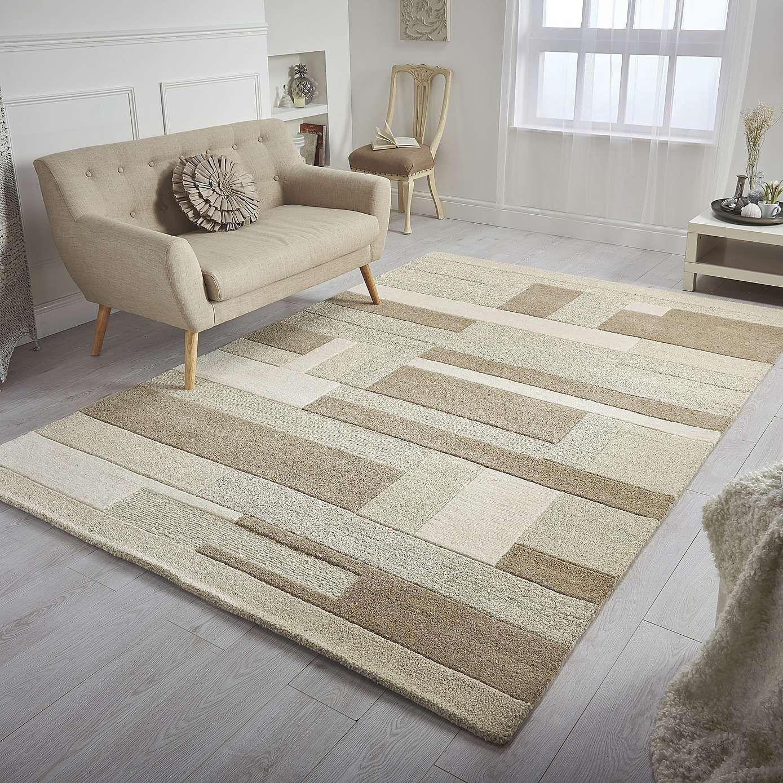 XXL Blanche Wool Rug | Dunelm | Living room | Pinterest | Wool rug ...