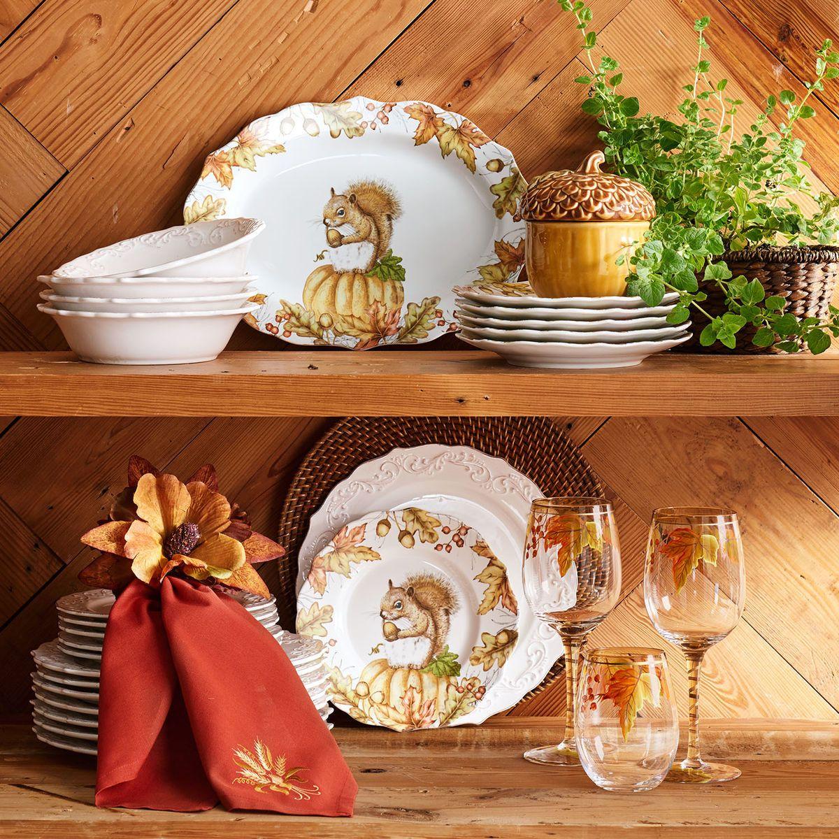 Mazey the Squirrel Porcelain Dinnerware | Pier 1 Imports & Mazey the Squirrel Porcelain Dinnerware | Pier 1 Imports | kitchen ...